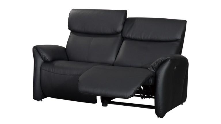 Canapé relax confort 2 places XL tout cuir Ohio Mobilier