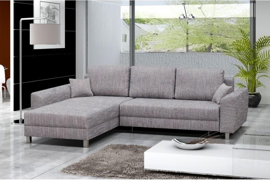 Canapé Droit Design Canapé D Angle Personnalisable tommy Convertible Noir