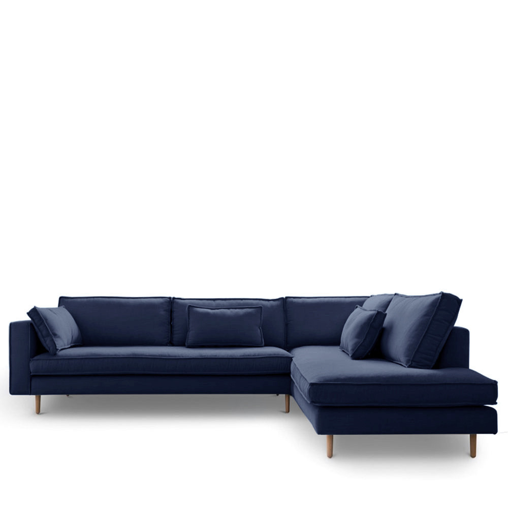 Canapé d angle en tissu Stockholm by Modalto Drawer