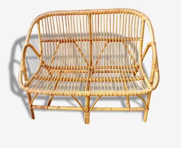 Canapé En Osier Concept
