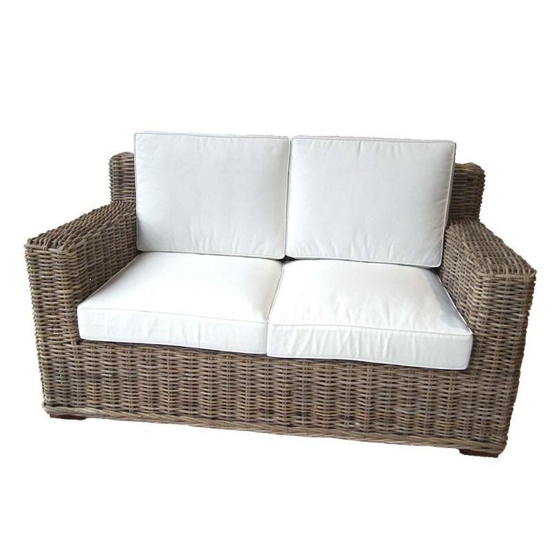 Canapé en rotin d intérieur fibre naturelle haute qualité