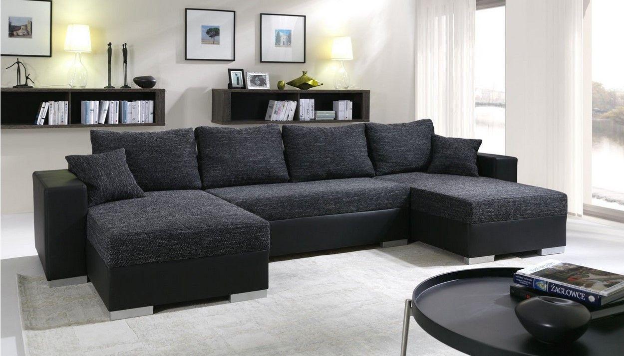 Canapé d angle Convertible panoramique 5 à 6 Places Enno