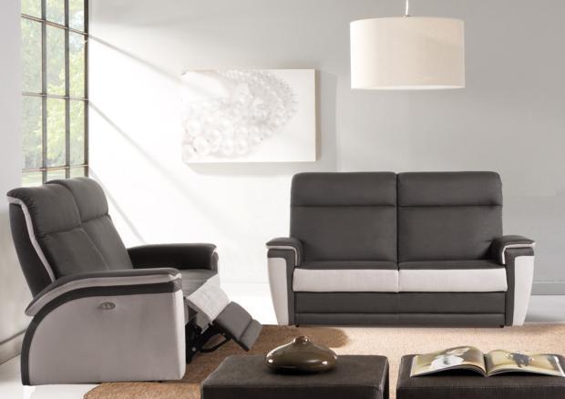 Acheter votre canapé 2 places fixes moderne chez Simeuble