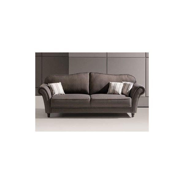 Canapé fixe 3 places CHARLINE en tissu color… Achat