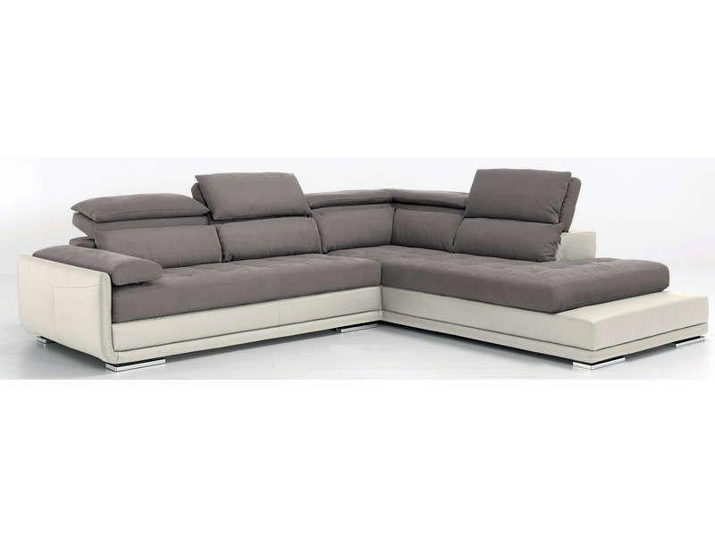 Canapé d angle fixe droit 5 places ULYSSE