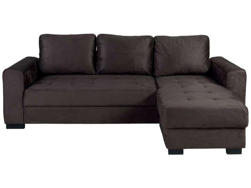 Canapé d angle fixe réversible 4 places APOLLO Conforama
