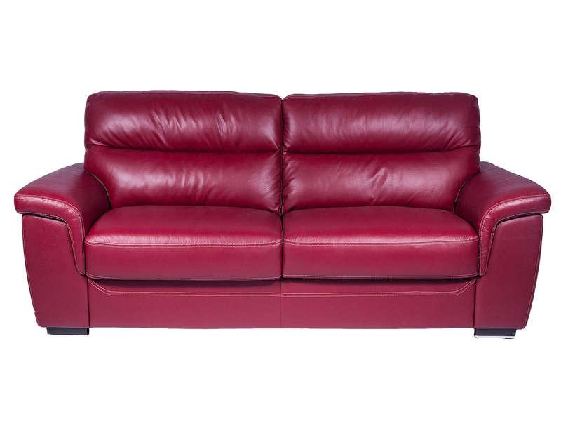 Conforama canape cuir rouge – Table de lit