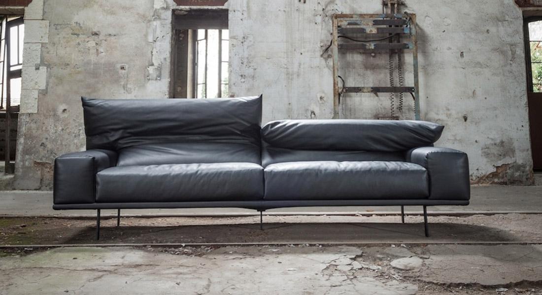 Canapé en cuir design Haut de gamme