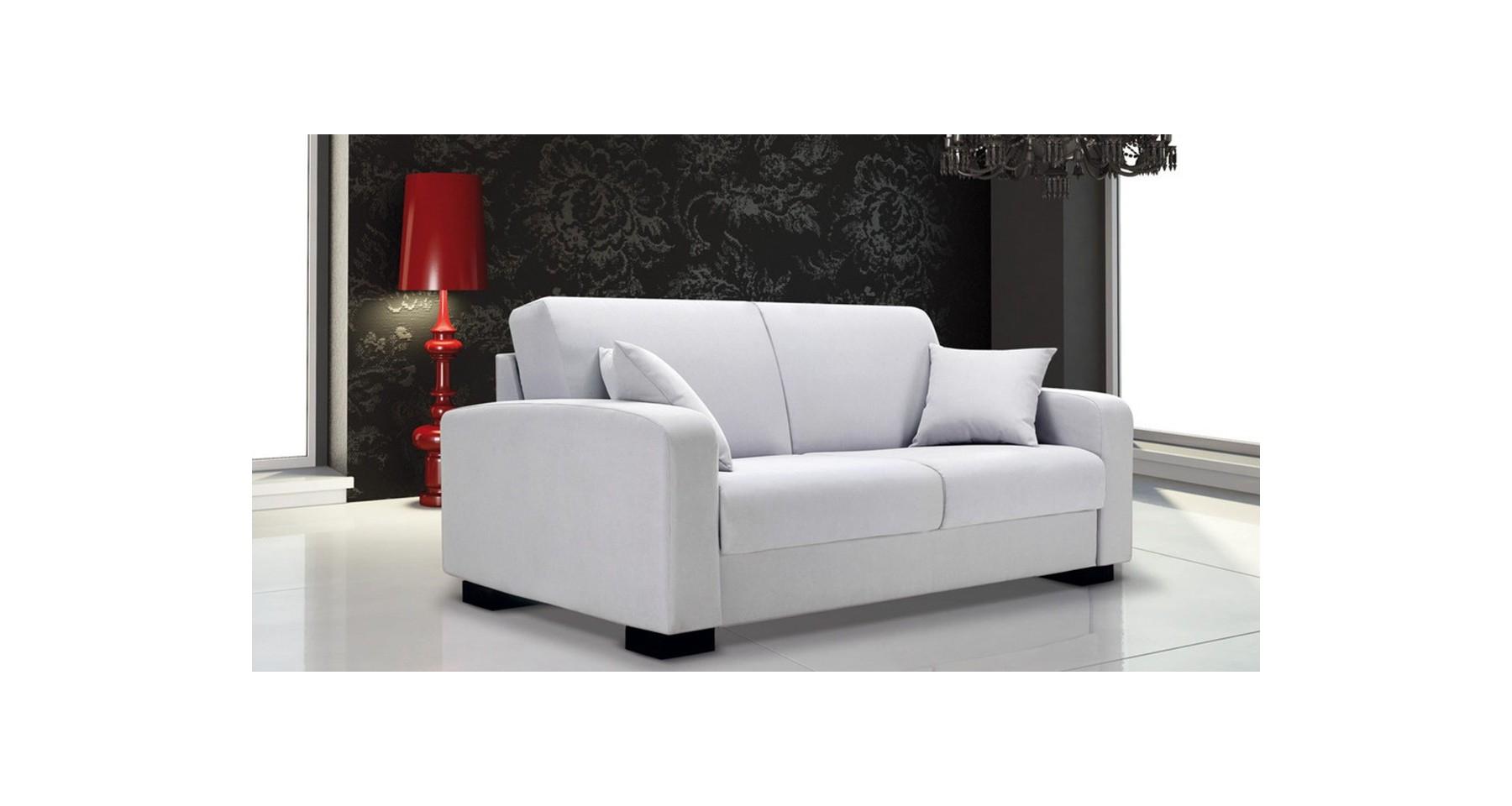 Canapé Leonardo fixe ou convertible haut de gamme Confort Plus