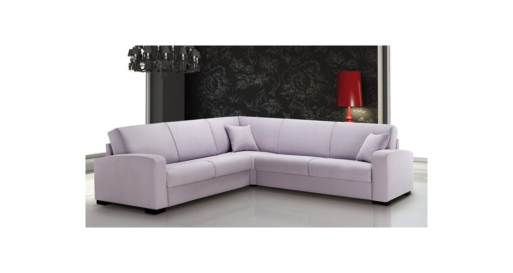 Grand canapé d angle haut de gamme personnalisable Leonardo