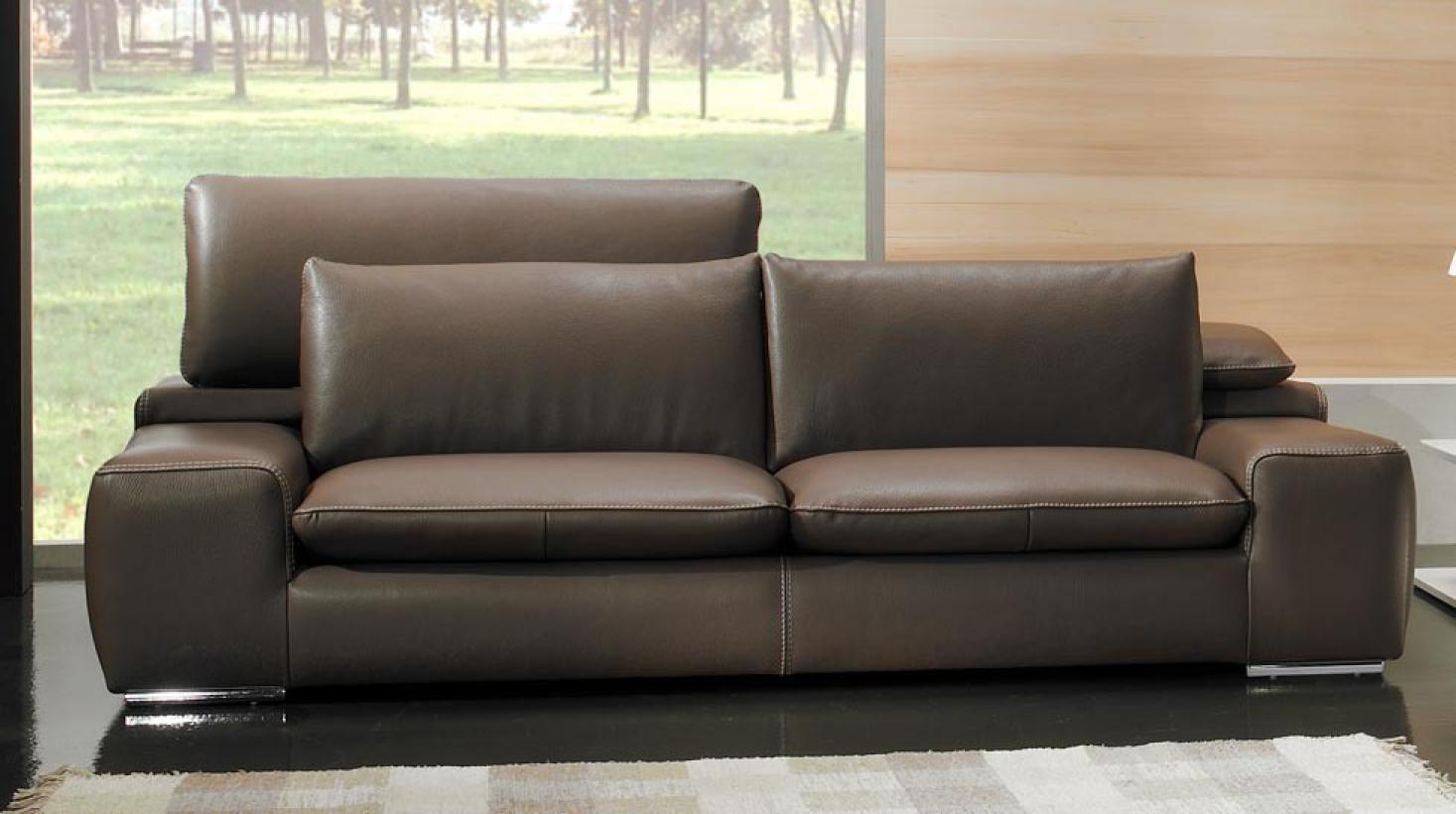 s canapé haut de gamme en cuir
