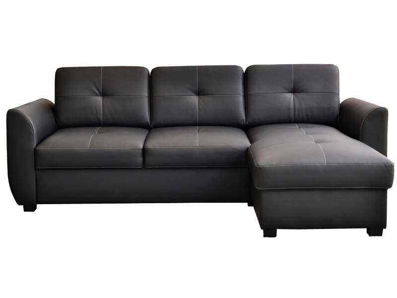 Canapé d'angle convertible et réversible 4 places à 399