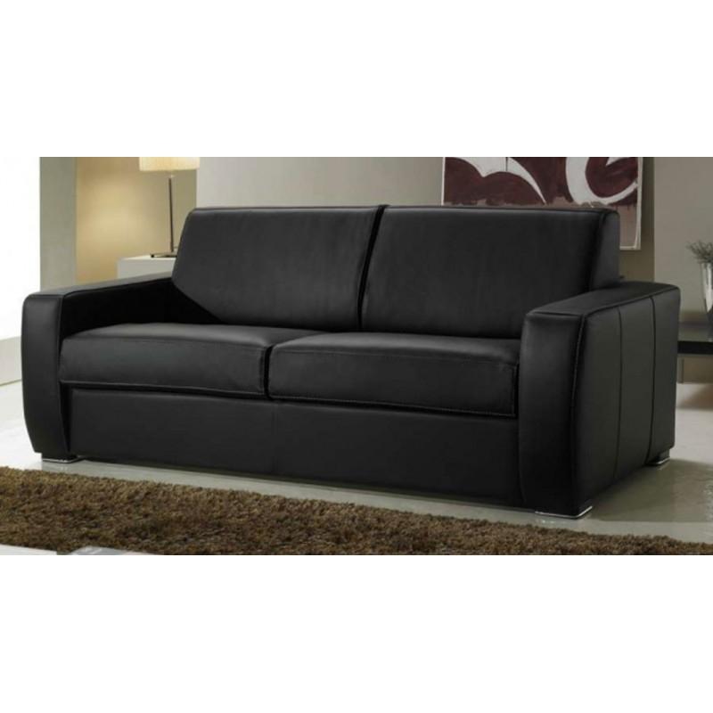 Canapé Lit Cuir Concept