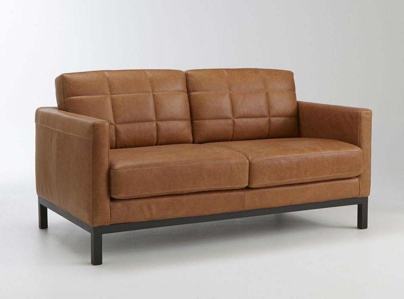 13 idées déco de canapé en cuir marron