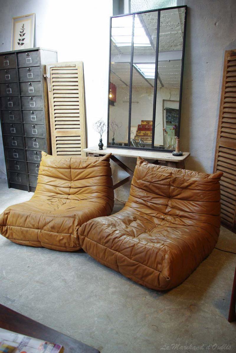 Canapé cuir marron 13 idées déco pour le salon