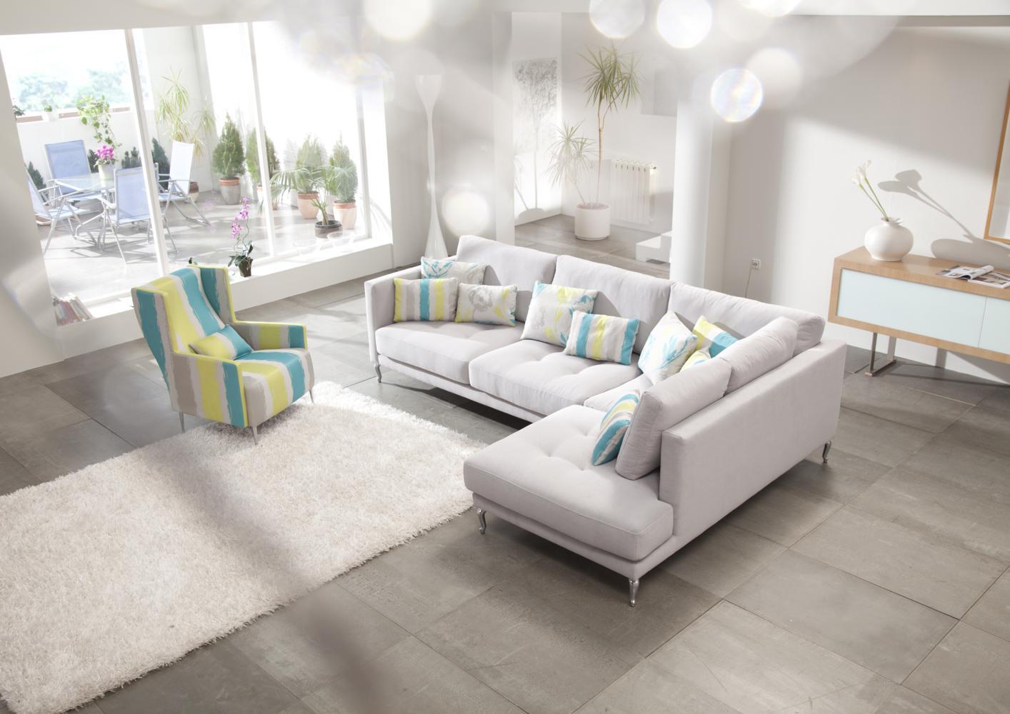 Canapé Moderne Tissu Concept