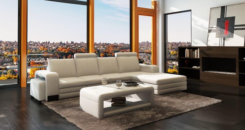 Canapé d Angle Cuir NEW YORK 2 Canapé cuir 4 5 places