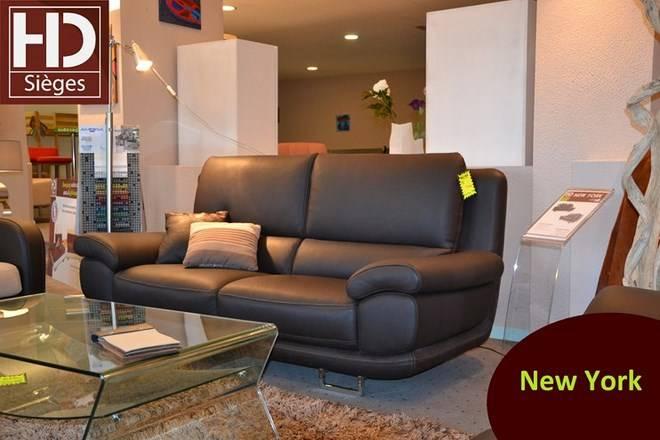 Canapé NEW YORK Fabricant de canapé en cuir sur mesure à