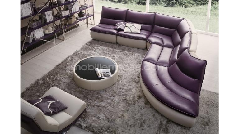 Canapé cuir & salon en cuir