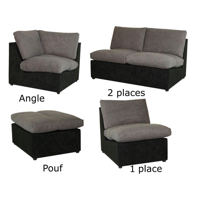 Canape d angle modulable Mundu