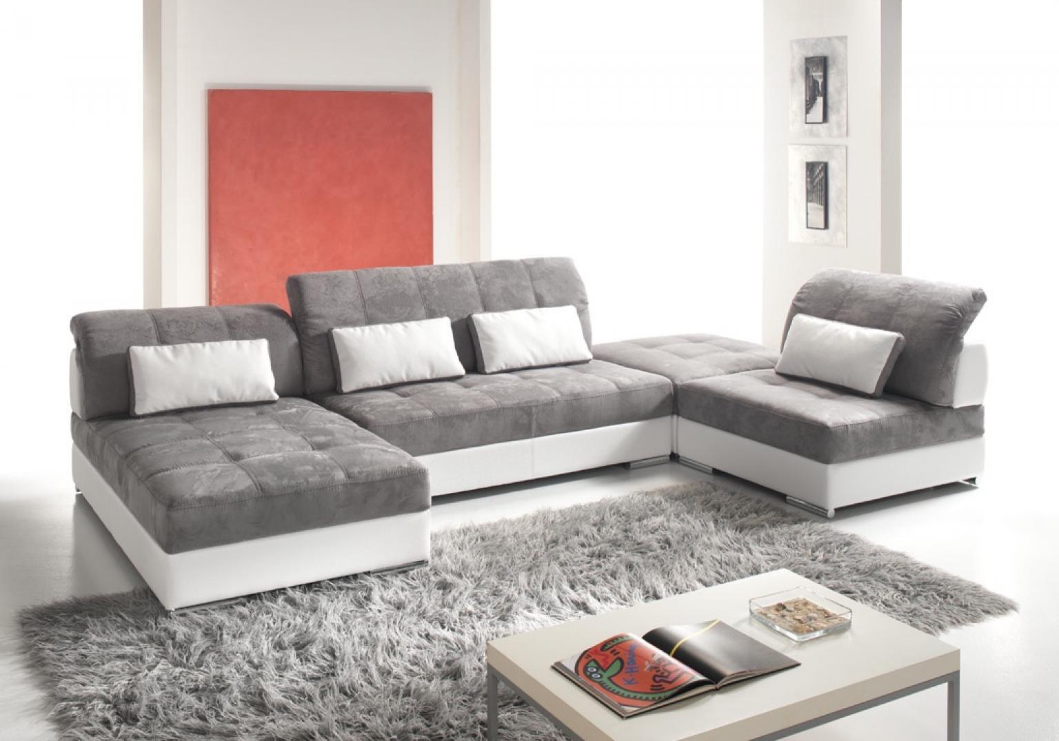 Canape Panoramique Tissu Maison Design Wiblia