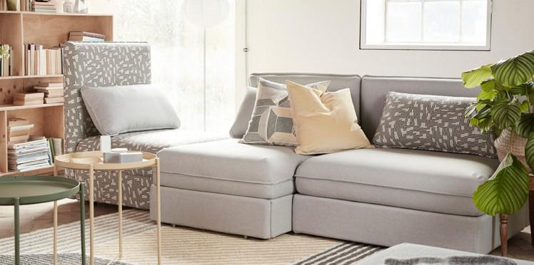 Le nouveau canapé IKEA vraiment modulable Femme