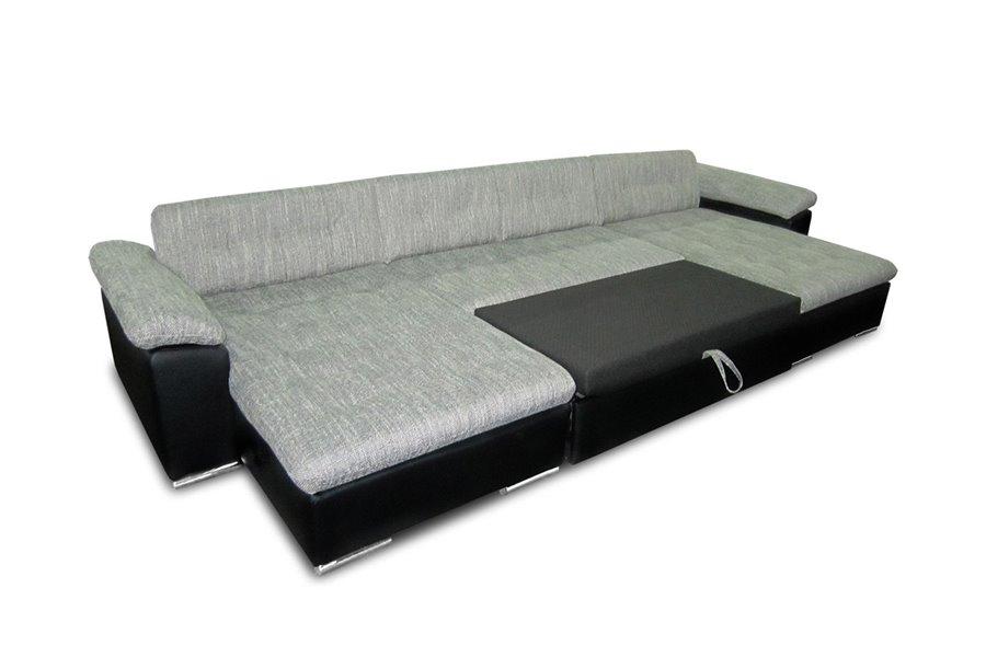 Canapé panoramique convertible tissu CLEA chloe design