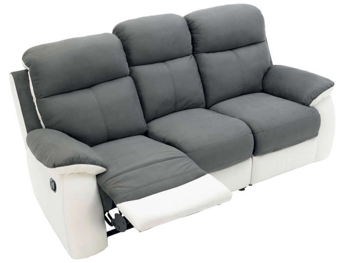 s canapé 2 places relax conforama
