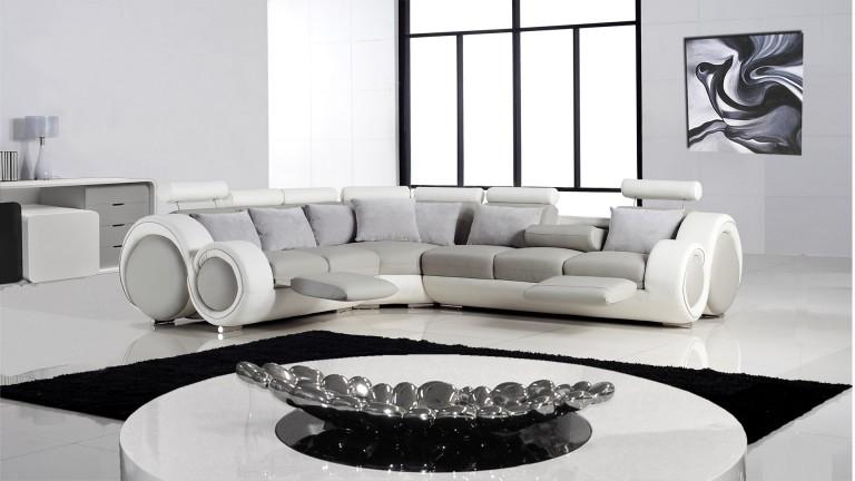 Canapé d angle de relaxation design Pierce Mobilier Moss