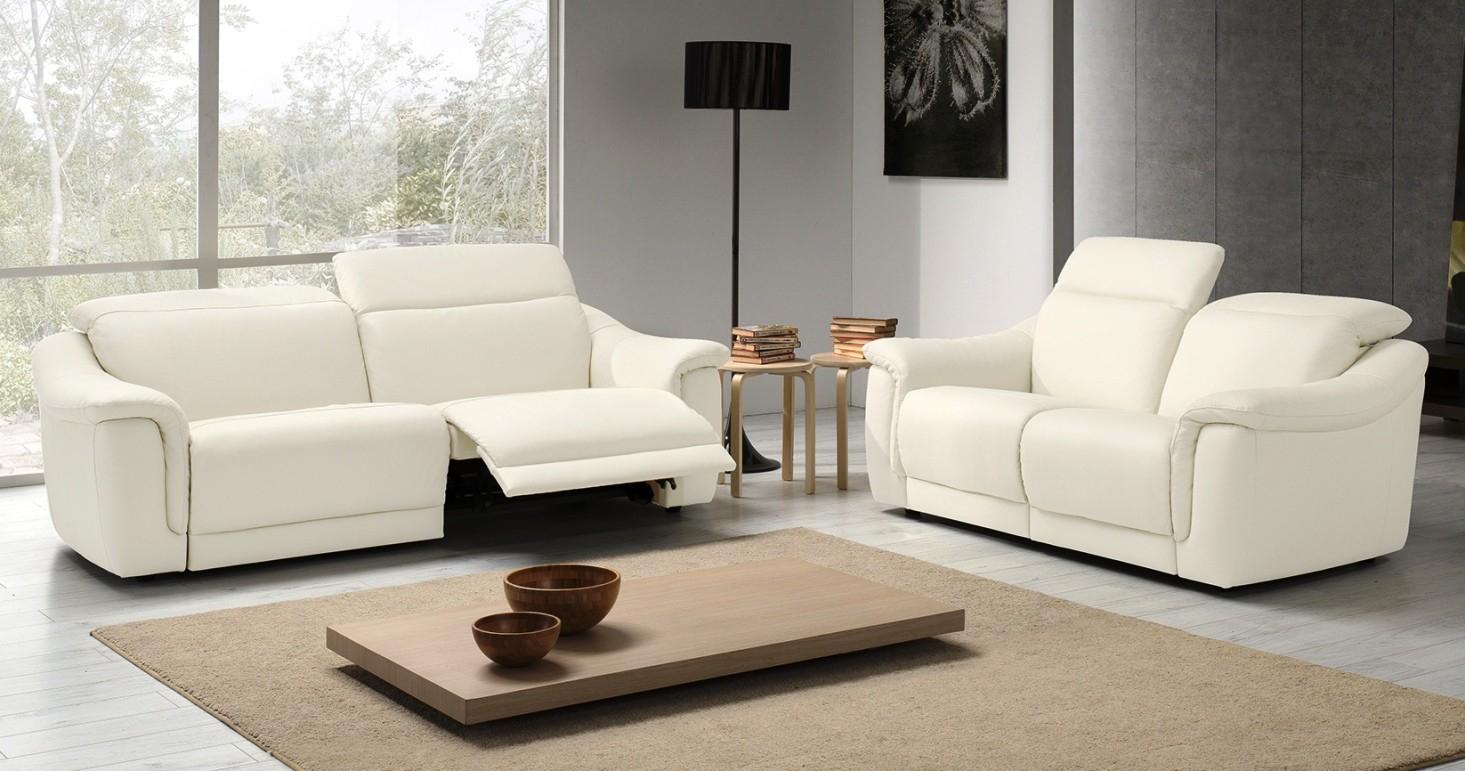 Canapé Cuir relaxation électrique ou fixe IRENA