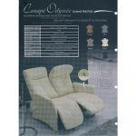 Canapé Relax Marron Canapé Relax électrique En Cuir Ou Tissu Au Meilleur Prix