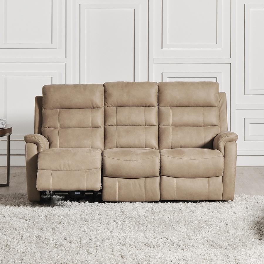 Canapé de relaxation électrique 3 places