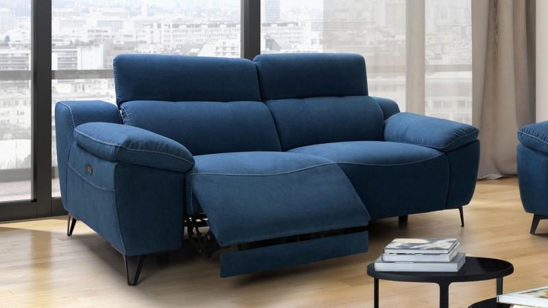 Canapé de relaxation électrique design 3 places Faro