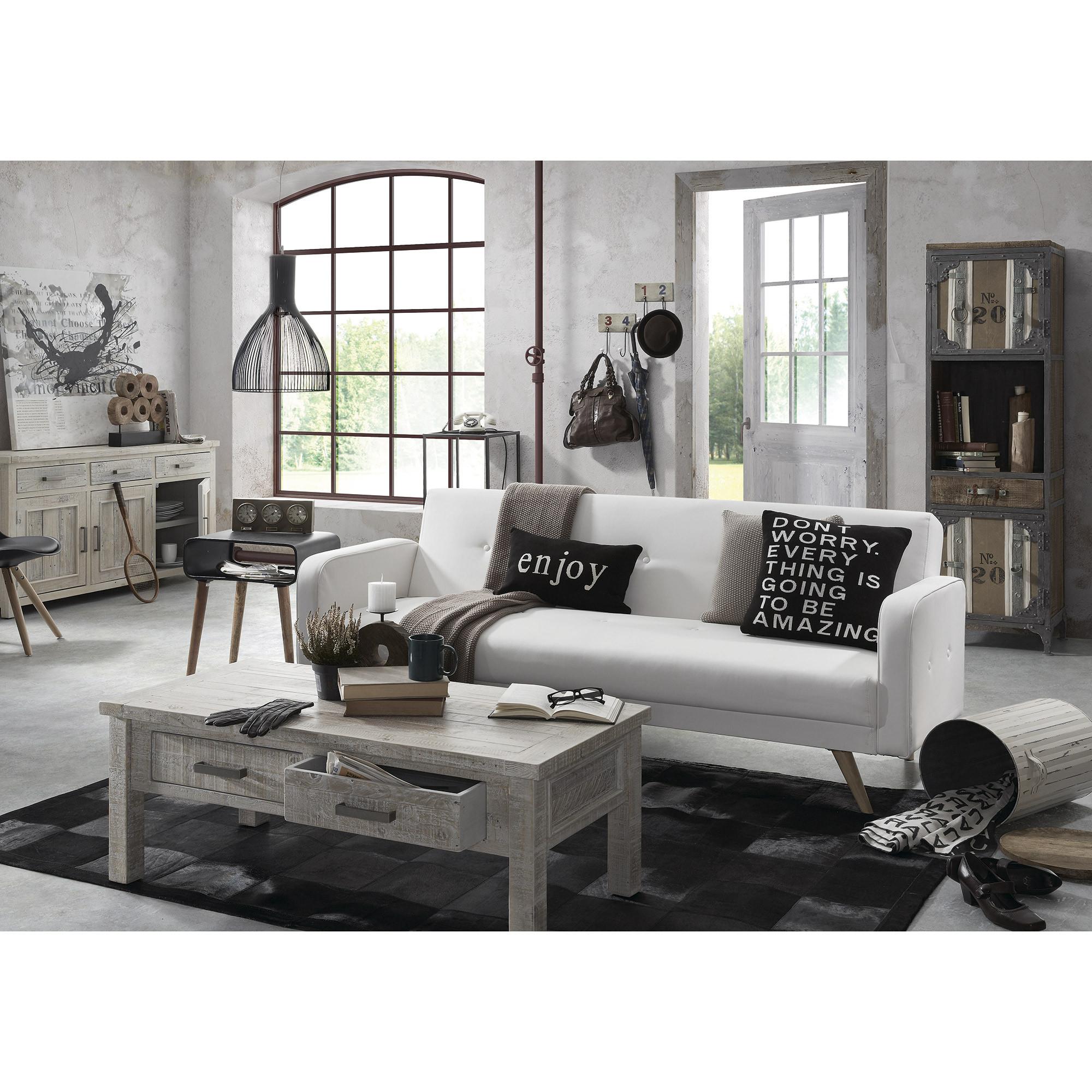 Canapé lit design scandinave ouverture clic clac avec