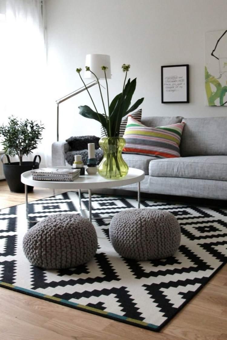 Salon scandinave à aménager et à décorer en 45 photos