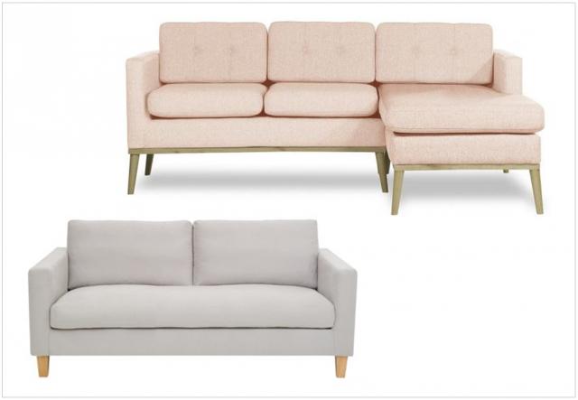 Canapé scandinave où trouver des modèles pas chers