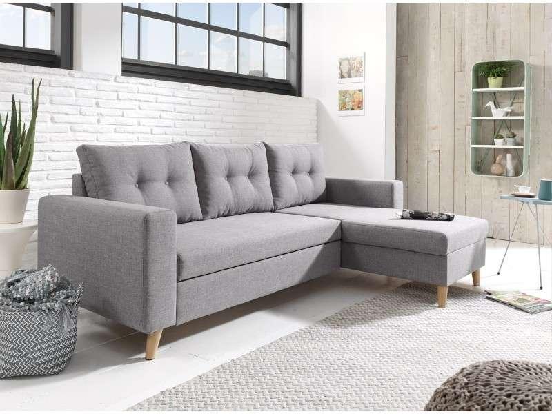 6 exemples de salon où le canapé gris fait toute la