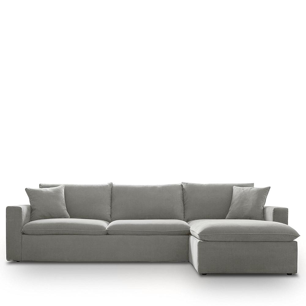 Canapé d angle droit tissu Mac by Modalto Drawer