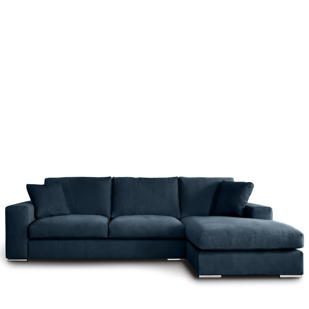 Canapé d angle droit tissu Pescara de Modalto Drawer