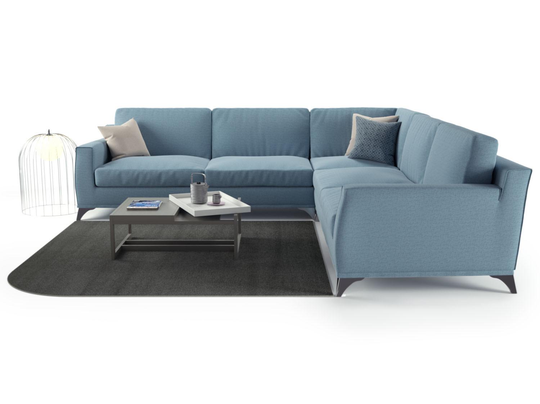 Canapé d angle en tissu déhoussable Elwood HomePlaneur
