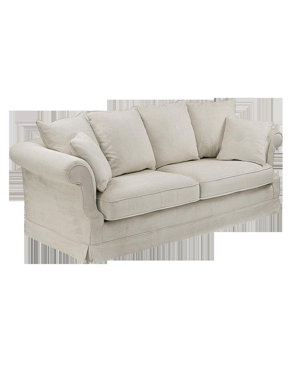 canapé déhoussable en tissu et microfibre Cottage