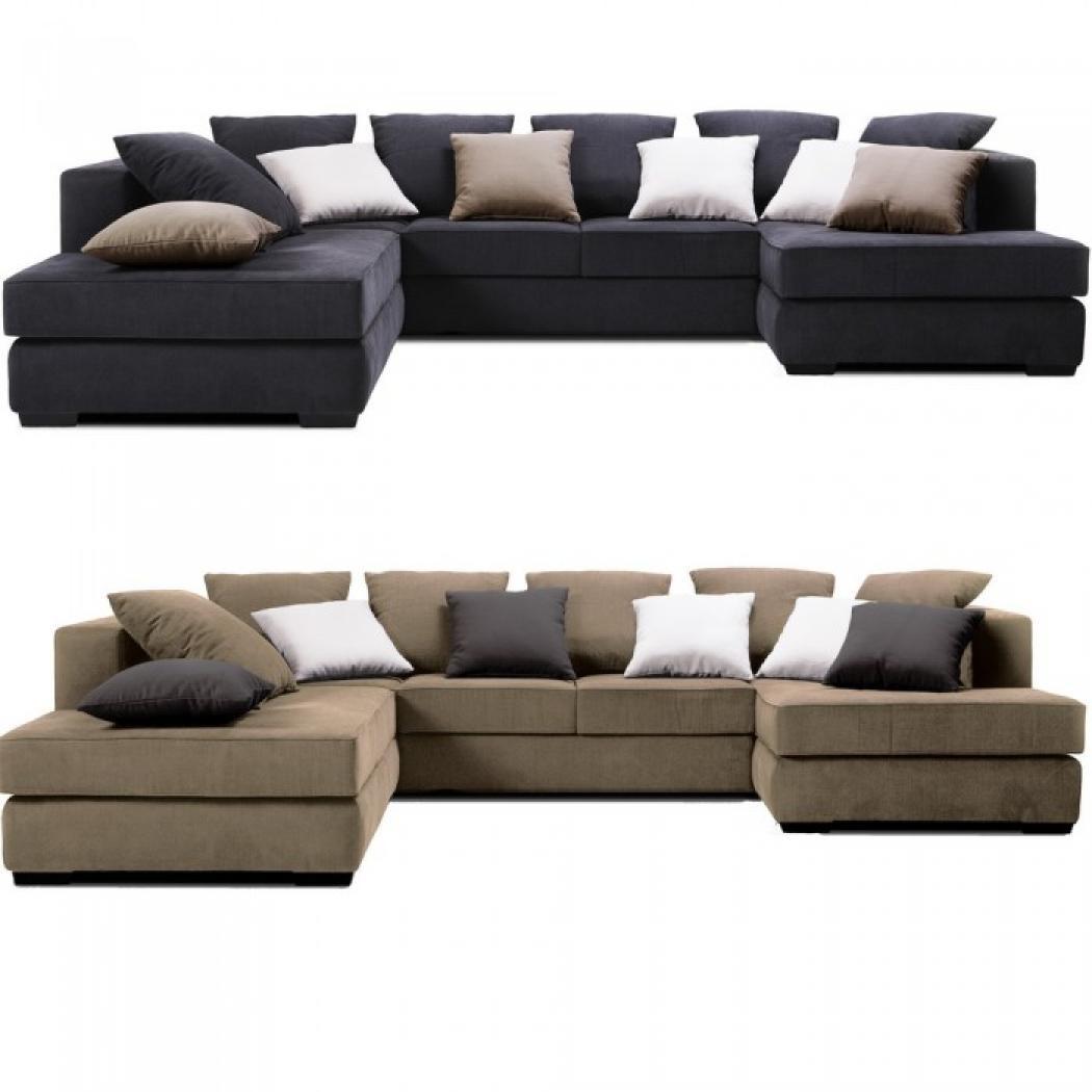 s canapé d angle tissu design