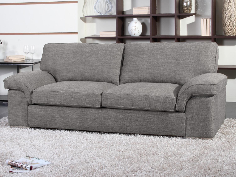 s canapé tissu gris