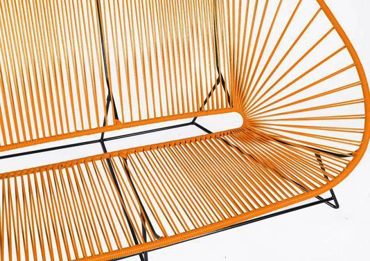 Acheter votre canapé trois places d extérieur tressé chez