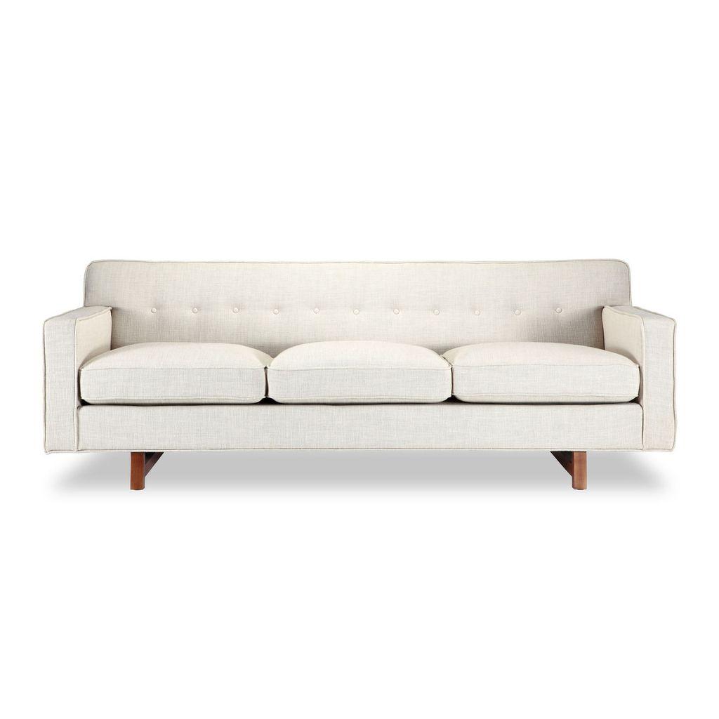 Canapé 3 places Giulia tissu pas cher qualité