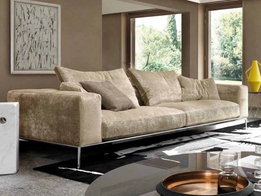 Sofa with removable cover SAVOYE By Désirée divani design