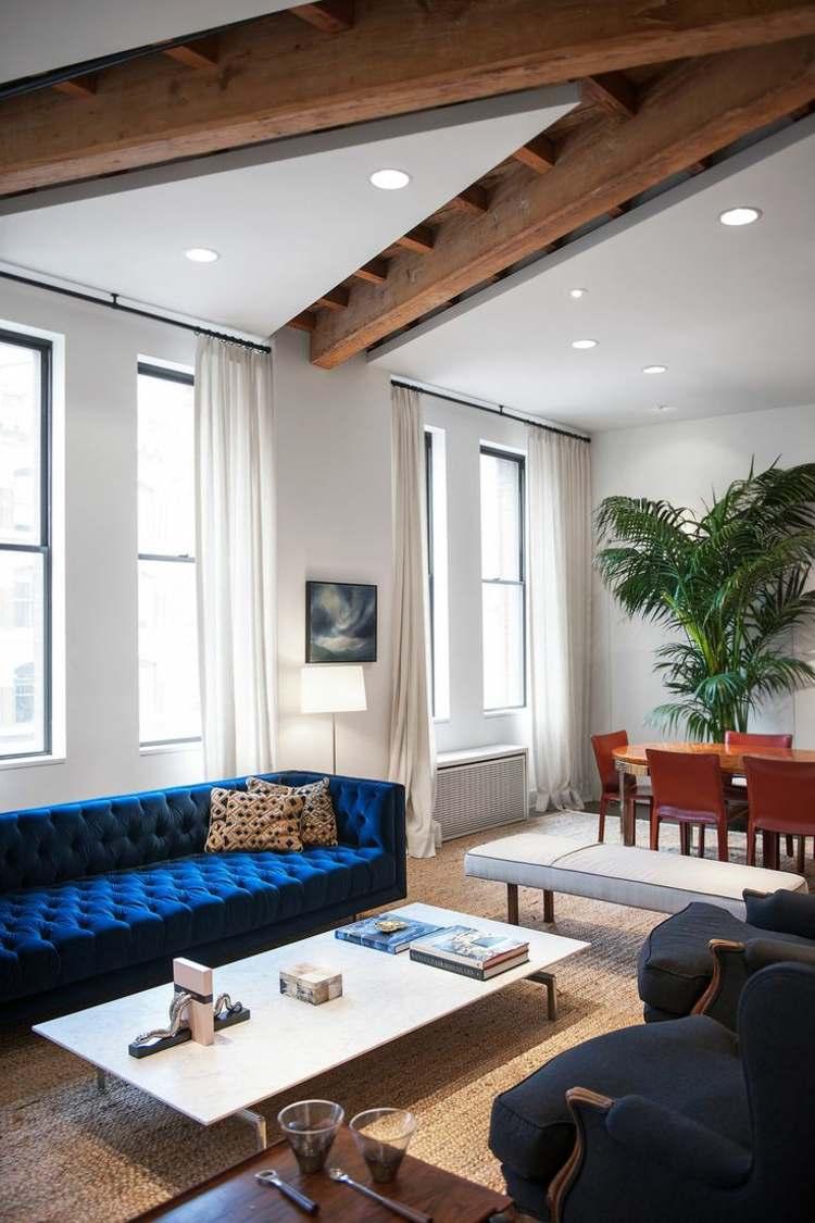Canapé velours le meuble parfait pour l intérieur moderne