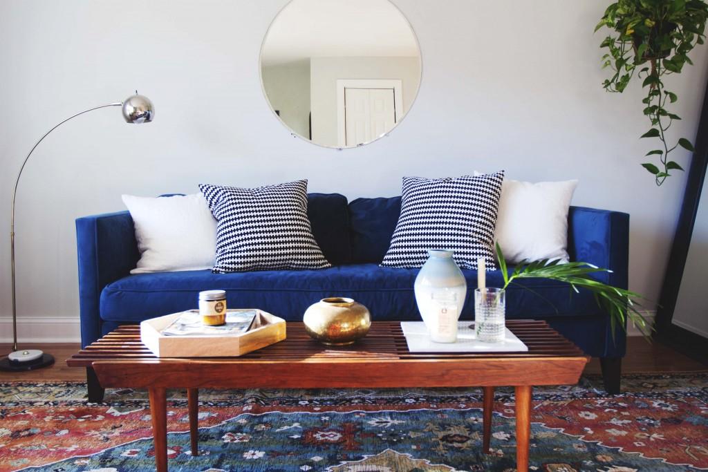 Inspirations pour un canapé en velours Joli Place