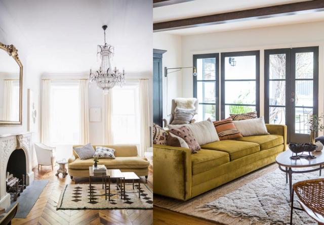 20 salons avec un canapé jaune Joli Place