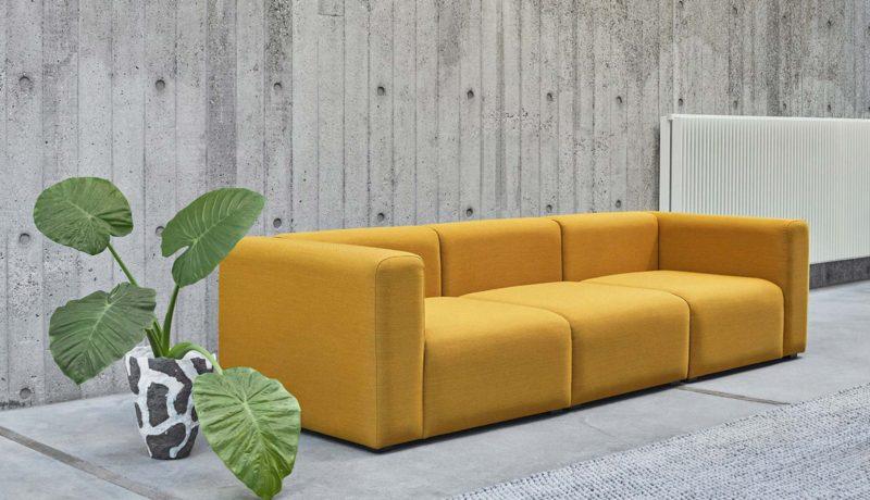 Canapé jaune 20 idées déco pour le salon